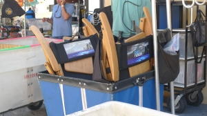 Burn Notice tv series filming in Sunny Isles Beach, Florida