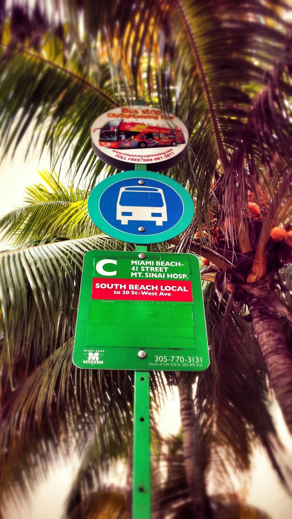 Watch out for the limited-stops South Beach local bus around South Beach